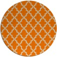 rug #397477 | round beige traditional rug