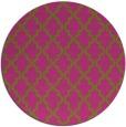 rug #397489 | round light-green popular rug