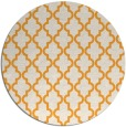 rug #397509 | round white traditional rug