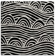 rug #397869 | square black abstract rug