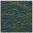 rug #397901 | square blue graphic rug