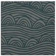 rug #397993 | square green abstract rug