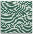 rug #397997 | square blue-green rug