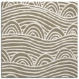 rug #398005 | square white graphic rug