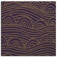 rug #398097 | square purple graphic rug