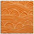 rug #398125 | square red-orange rug