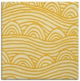 rug #398153 | square yellow graphic rug