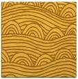 rug #398169 | square light-orange abstract rug
