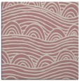 rug #398205 | square pink graphic rug