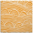 rug #398213 | square light-orange abstract rug