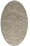 rug #398220   oval abstract rug