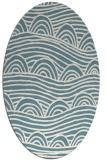 rug #398242 | oval graphic rug