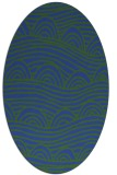 rug #398264 | oval graphic rug