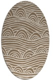 rug #398369 | oval graphic rug