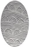 rug #398401 | oval abstract rug