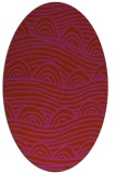 rug #398471 | oval abstract rug