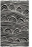 rug #398573 |  black abstract rug