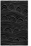 rug #398577    black graphic rug