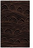 rug #398585 |  brown graphic rug