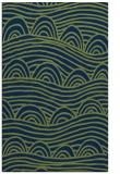 rug #398605 |  blue abstract rug