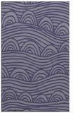 rug #398657    blue-violet graphic rug