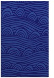 rug #398673 |  blue-violet abstract rug