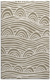 rug #398709 |  mid-brown graphic rug