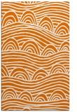 rug #398761 |  orange graphic rug