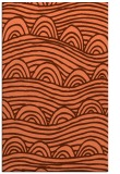 rug #398769 |  red-orange graphic rug