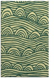 rug #398773 |  blue-green graphic rug