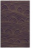 rug #398801 |  purple abstract rug