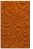 rug #398833    red-orange abstract rug