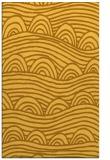 rug #398873    yellow graphic rug