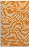 rug #398885 |  orange graphic rug