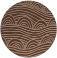 rug #398940 | round abstract rug