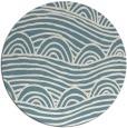 rug #398946 | round graphic rug