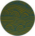 rug #398982 | round abstract rug