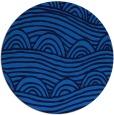 rug #399089   round blue rug