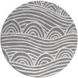 rug #399105 | round abstract rug