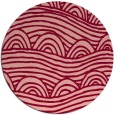 rug #399140 | round abstract rug