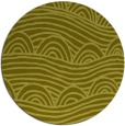 rug #399241 | round light-green abstract rug