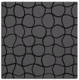 rug #399633 | square black circles rug