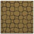 rug #399645 | square brown circles rug