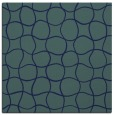 rug #399657 | square blue check rug