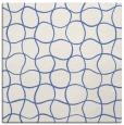 rug #399665 | square blue circles rug