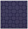 rug #399709   square blue-violet check rug