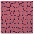 rug #399717 | square pink check rug