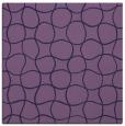 rug #399721 | square purple circles rug