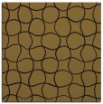 rug #399741 | square mid-brown check rug