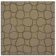 rug #399745 | square mid-brown check rug